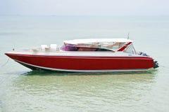 小船速度 免版税库存照片