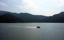 小船速度 图库摄影
