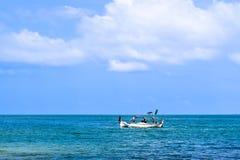 小船钓鱼传统 免版税库存图片