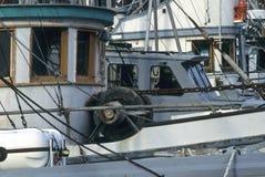 小船钓鱼 库存照片