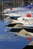 小船销售额 免版税库存照片