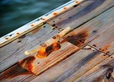 小船领带 免版税图库摄影