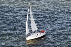 小船风帆端 免版税图库摄影