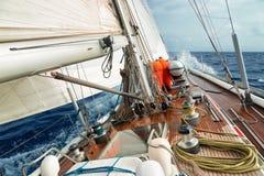 小船风帆 库存图片
