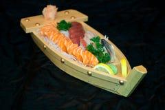 小船食物日本 库存图片
