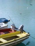 小船马达 库存图片