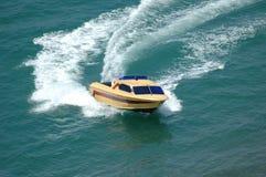 小船马达 免版税库存图片