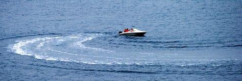 小船马达 库存照片
