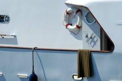 小船马达 免版税库存照片
