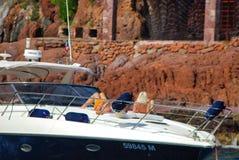 小船,车,生态系,风船,船只,游艇,小船 免版税库存照片