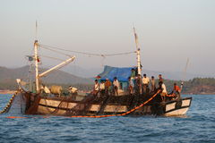 小船3 免版税库存照片