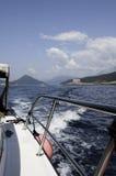 小船boka远航 库存照片