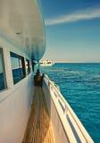 小船egipt行程 免版税库存图片