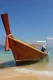小船longtail 免版税图库摄影