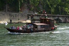 小船rabelo 免版税图库摄影