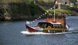 小船rabelo 图库摄影