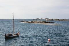 小船s传统varlberg 图库摄影