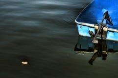 小船stillwater 免版税库存图片