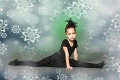 小芭蕾舞女演员 图库摄影