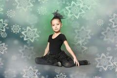小芭蕾舞女演员 免版税库存照片
