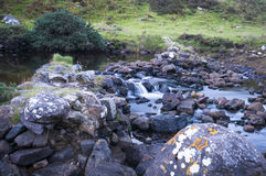 小苏格兰瀑布 免版税图库摄影