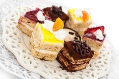 小蛋糕 免版税库存图片