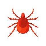 小蜘蛛昆虫在白色背景的传染媒介例证 向量例证