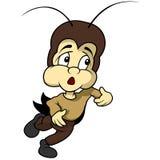 小蟋蟀赛跑 库存照片