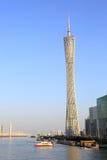 小行政区塔在广州,中国 库存图片