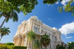 小行政区宫殿,梅里达,墨西哥 免版税库存照片