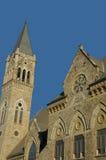 小行政区教会俄亥俄 免版税库存图片