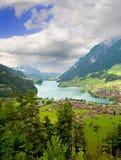 小行政区fribourg瑞士 图库摄影