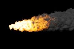 小行星通过 皇族释放例证