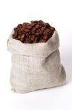 小袋子的咖啡 免版税库存照片