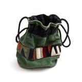 小袋子种族的装饰品 免版税库存照片