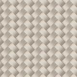 小被编织的白色藤茎纤维无缝的样式 图库摄影