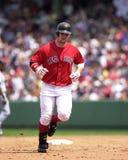 小跑尼克松,波士顿红袜 免版税库存照片