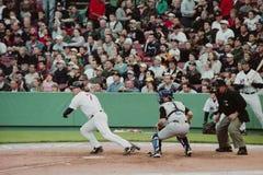 小跑尼克松,波士顿红袜 图库摄影