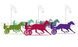 小跑轨道 免版税图库摄影