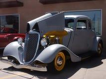小轿车灰色hotrod初级读本 库存图片