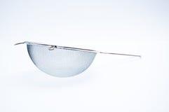 小银色筛子 免版税图库摄影