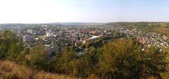 小镇乔尔特基夫城市视图  库存图片