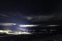 小镇冰岛 免版税库存照片