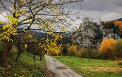 小阳春-斯洛伐克共和国 免版税库存照片