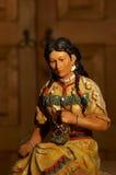 小雕象印地安人 免版税库存照片