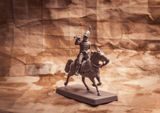 小雕象战士,俄国暴徒 库存图片