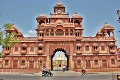 小面包Swaminarayan寺庙@ Gondal 免版税库存图片