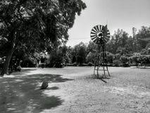 小风车项目学院 免版税图库摄影