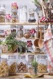 小餐具室 图库摄影