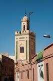 小马拉喀什的清真寺 免版税库存照片